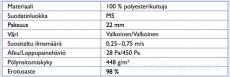 WILTEC KATTOSUODATIN 1 x 20 M
