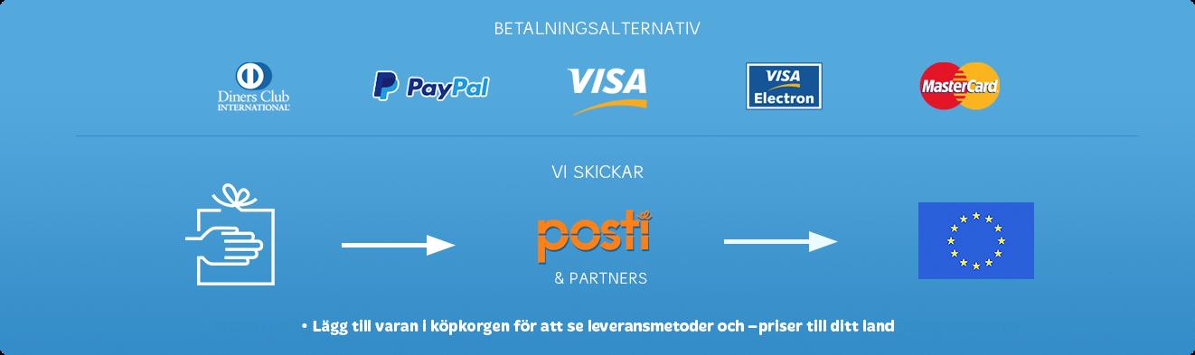 Betalningsalternativ